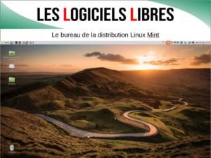 Image du bureau de Linux Mint